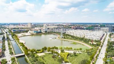 乐陵市元宝湖风景区